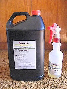 Trickys Cutting Oil Sprayable Lubricant White Rod Grease